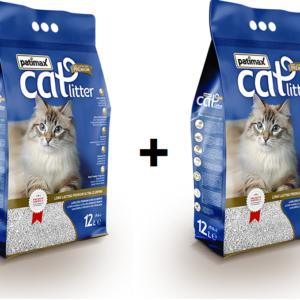 מבצע!! זוג שקי חול מתגבש פטימקס לשירותי החתול