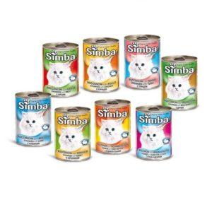3 קופסאות סימבה מזון רטוב משלים לחתולים במבצע