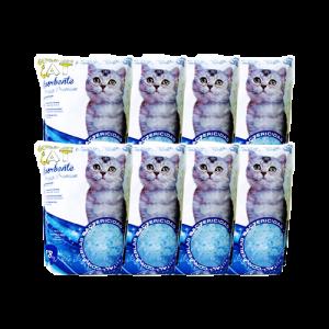 חול קריסטל לחתול איי קט 3.6 ליטר במבצע!!! 8 יחידות ב 120 בלבד